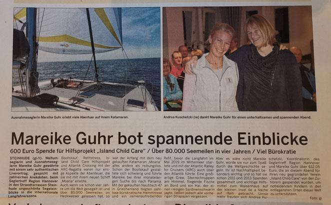 Wunstorfer Stadtanzeiger, 15. / 16. 02.2020