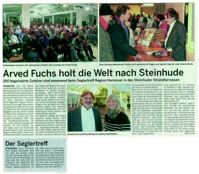 8. Februar 2018, Wunstorfer Stadtanzeiger