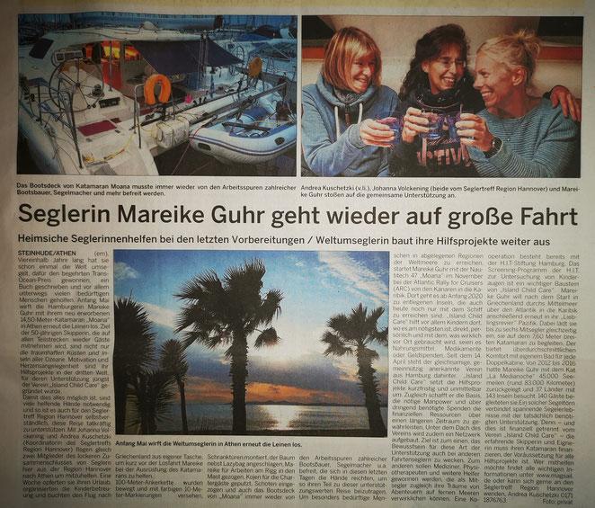 Wunstorfer Stadtanzeiger, 2. Mai 2019
