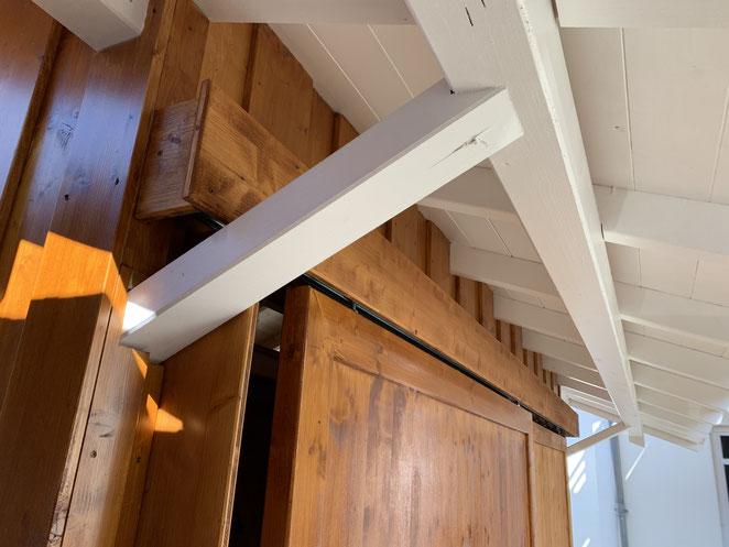 Holzschutz via Lasur sowie deckende Beschichtung in Kombination