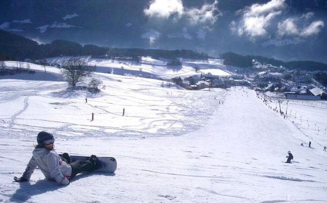 Skilift Panorama Snowboard