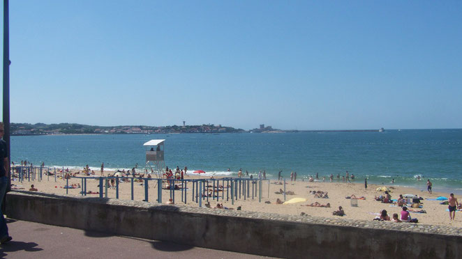 La plage de Saint Jean De Luz