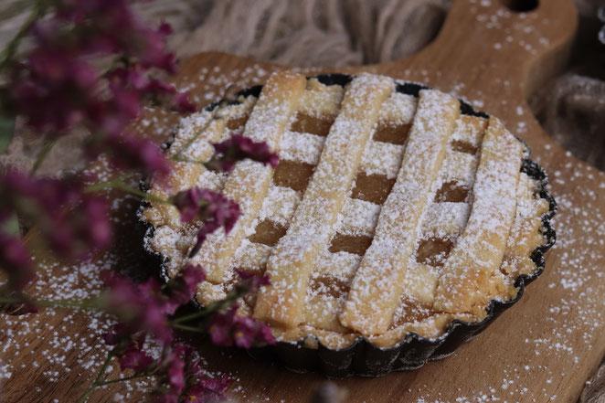 Apfel-Mürbteigkuchen