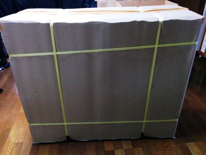 土のうステーション(折畳式土のうボックス)基本荷姿
