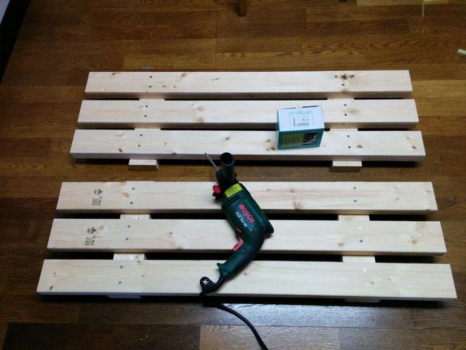 土のうステーション(折畳式土のうボックス)用木製スノコ