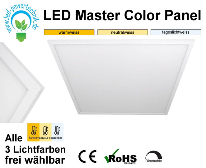 LED Licht-Panel 15W, 30x30cm