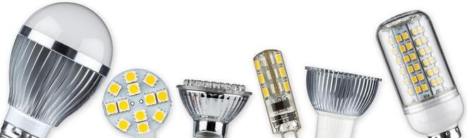 LED Leuchtmittel, Handel