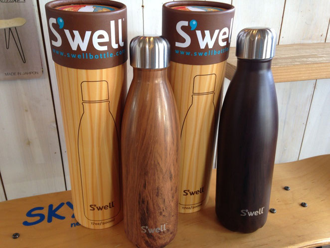 S'well(スウェル)Wood Collection 500ml (Teakwood ¥5,400 Burlwood ¥5,400)