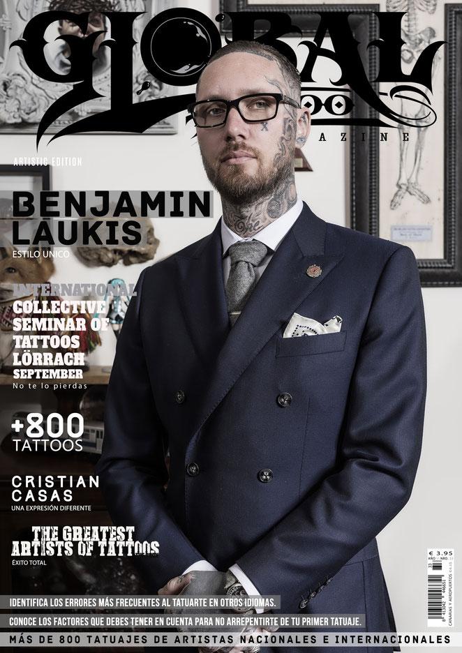 tattoo artist, tattoos, tattoo design, Benjamin Laukis, Cristian Casas, Tätowierer, Tattoos, Tattoodesign,