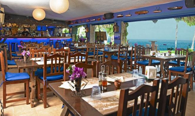 Alquiler de vacaciones en Cala Llevadó - restaurante Beach Club