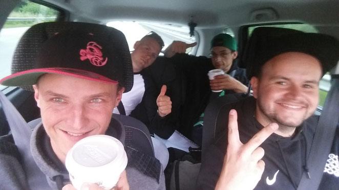 Trotz reichlich Kaffee und Motivation mussten sich Benni, Klaas, Chelle und Hans bei der ersten Teilnahme am Collector Marathon 2016 der Tee-Timers Wolfenbüttel am Ende geschlagen geben. Die Ausdauer reichte, Zeit und Licht am Ende leider nicht mehr.