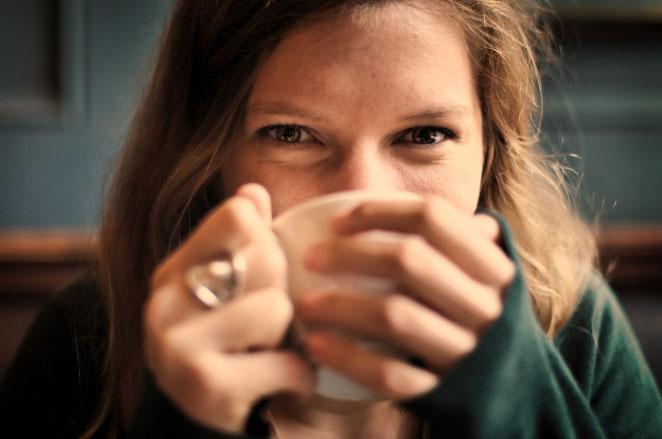 Tee ist gesund und macht glücklich