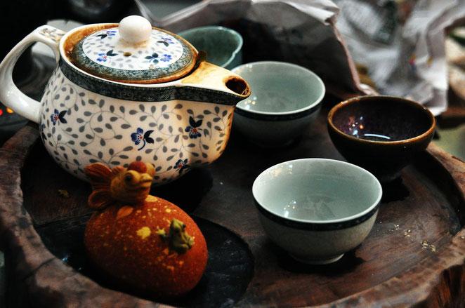 Gemütliche Teestunde zur Gesundheitsförderung