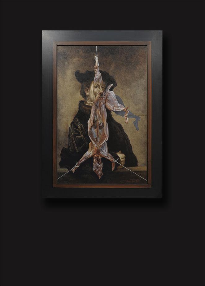 """Conversation avec Rembrandt Van Rijn """"L'écorché"""""""