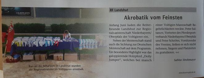 Pferde Zuch und Sport, Ausgabe September 2018