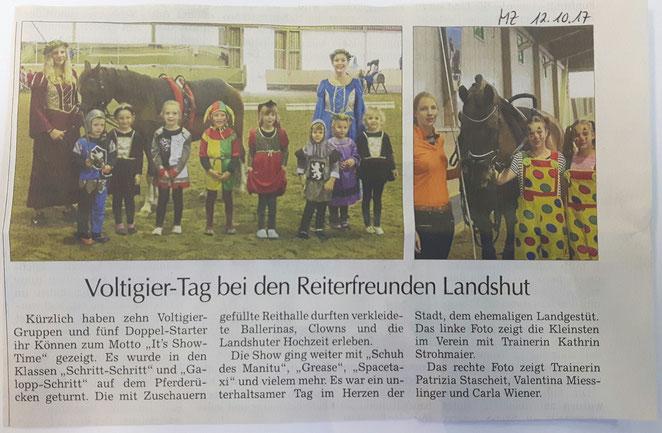 Moosburger Zeitung 12.10.2017