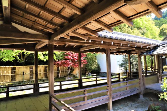 あじさい鍼灸マッサージ治療院 南禅寺の方丈内部