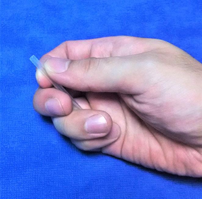 あじさい鍼灸マッサージ治療院 片手挿管1