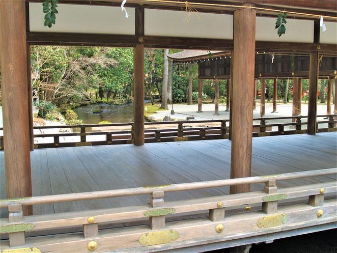 あじさい鍼灸マッサージ治療院 上賀茂神社渡り廊下