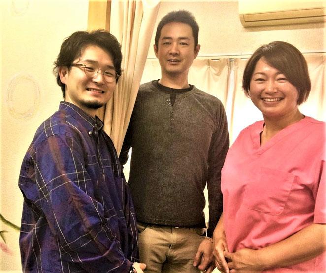 野村森太郎先生 甲野 橋本由紀子先生