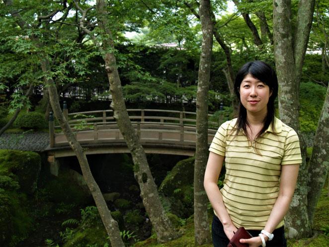 あじさい鍼灸マッサージ治療院 結婚前の妻と箱根美術館に訪れた