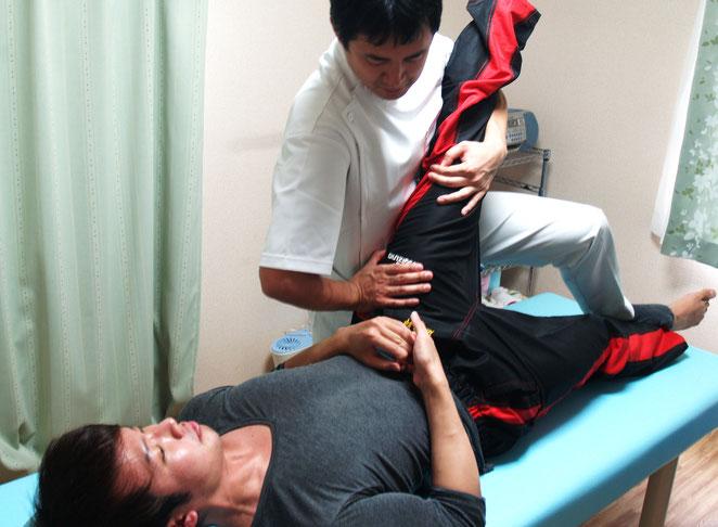 あじさい鍼灸マッサージ治療院 筋力トレーニング