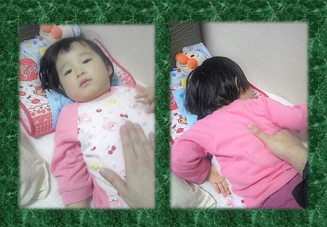 あじさい鍼灸マッサージ治療院 小児への指圧