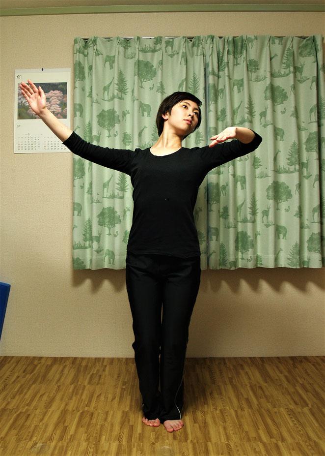 あじさい鍼灸マッサージ治療院 社交ダンスのホールド