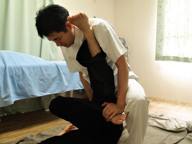 あじさい鍼灸マッサージ治療院 タイ古式マッサージ