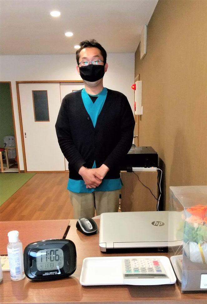 あじさい鍼灸マッサージ治療院 上茶谷貴之先生