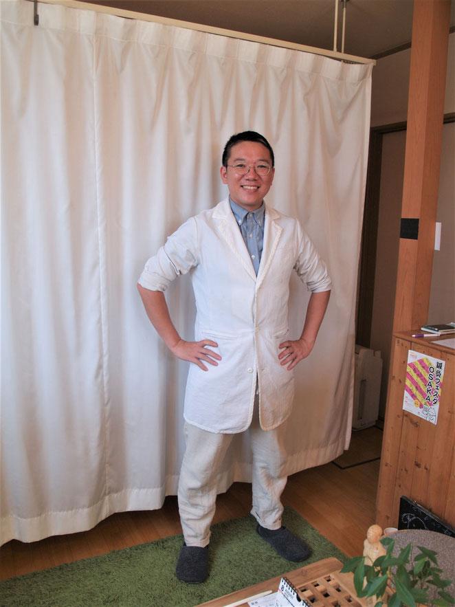 あじさい鍼灸マッサージ治療院 京都お灸堂鋤柄先生