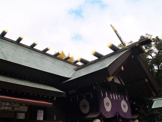 あじさい鍼灸マッサージ治療院 東京大神宮拝殿