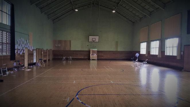あじさい鍼灸マッサージ治療院 学生時代合宿した体育館