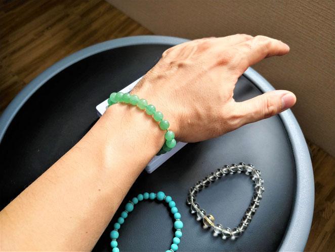 あじさい鍼灸マッサージ治療院 今年の数珠