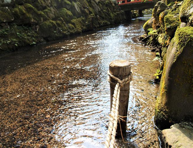 あじさい鍼灸マッサージ治療院 上賀茂神社の川