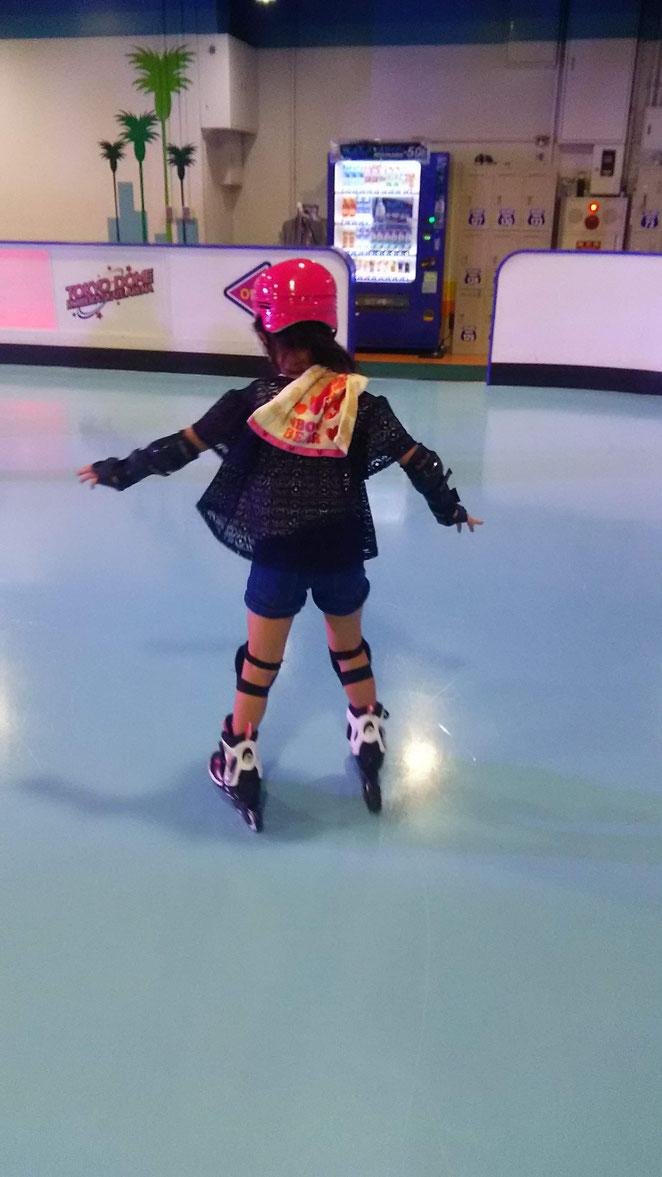 あじさい鍼灸マッサージ治療院 東京ドームのローラースケートへ
