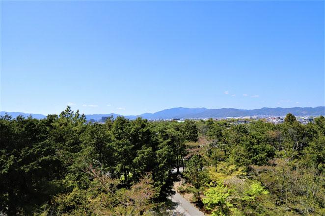 あじさい鍼灸マッサージ治療院 南禅寺の三門から見た景色