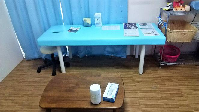 あじさい鍼灸マッサージ治療院 治療室も模様替え