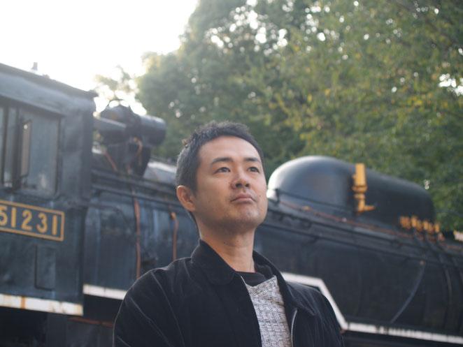 上野公園にて院長の写真