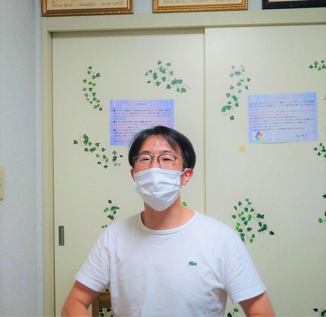 あじさい鍼灸マッサージ治療院 なりひら治療院鈴木恭平先生来院