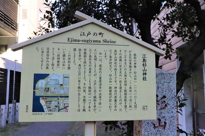 あじさい鍼灸マッサージ治療院 江島杉山神社の説明