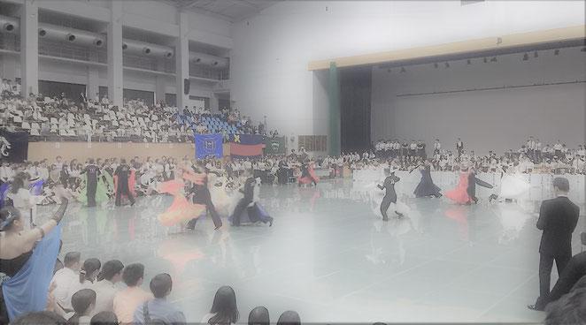 社交ダンスの競技会