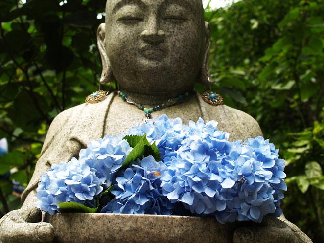 あじさい鍼灸マッサージ治療院 鎌倉長谷寺の紫陽花