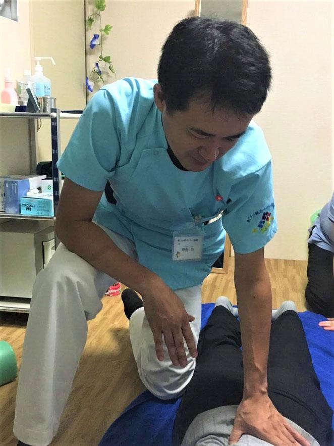 あじさい鍼灸マッサージ治療院 体勢のをどのようにするか