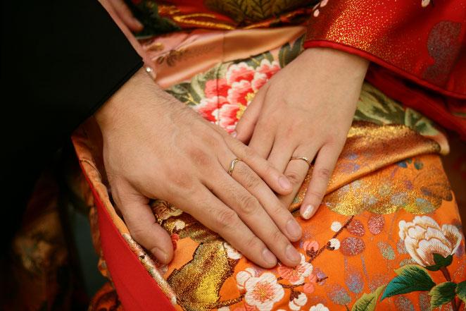 あじさい鍼灸マッサージ治療院 結婚指輪
