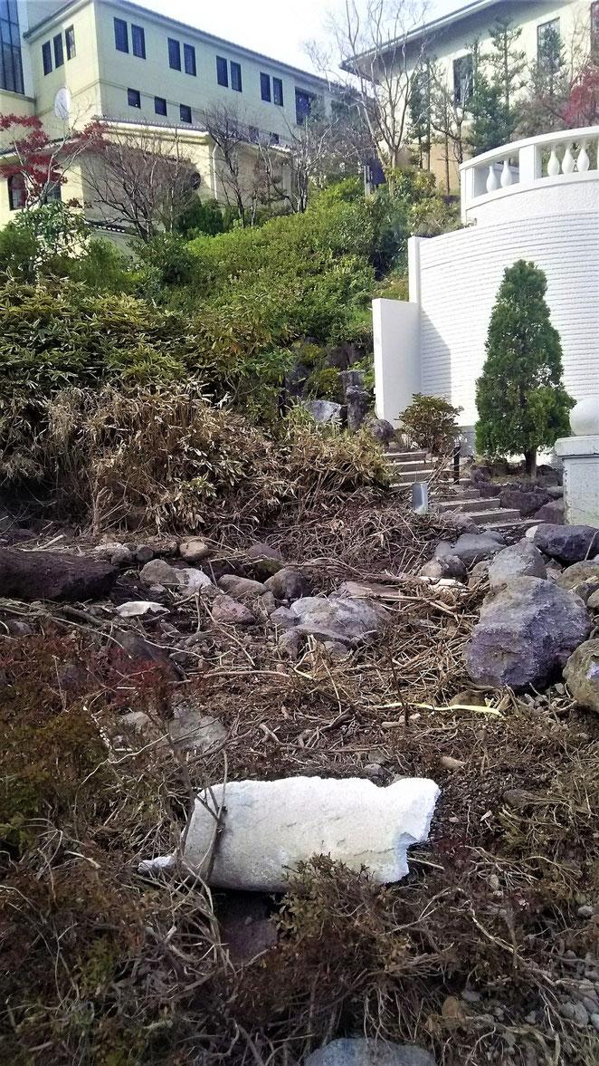 あじさい鍼灸マッサージ治療院 台風被害のあった箱根小涌園ユネッサン