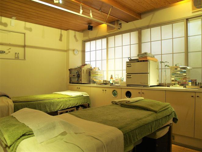 あじさい鍼灸マッサージ治療院 はりいんT施術室