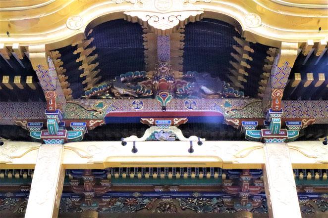 あじさい鍼灸マッサージ治療院 上野東照宮社殿近影