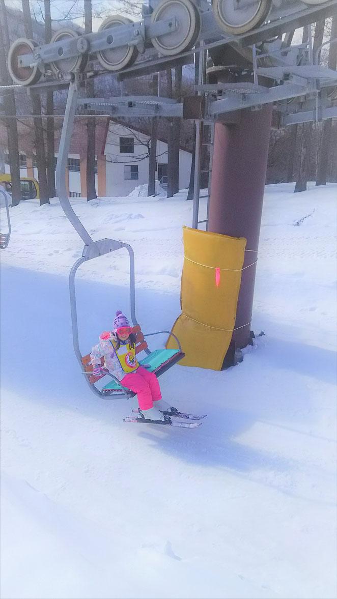 あじさい鍼灸マッサージ治療院 スキーの一場面