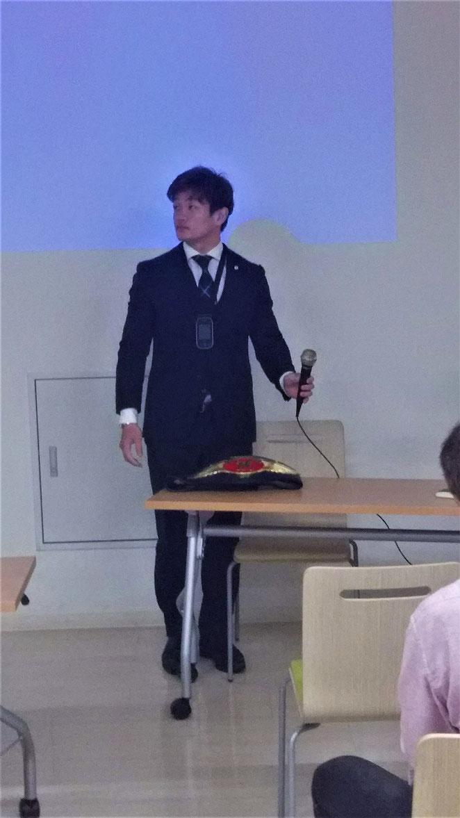 あじさい鍼灸マッサージ治療院 ラウェイチャンピオン金子大輝選手